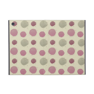 Pink and Mint Painted Abstract Cases For iPad Mini