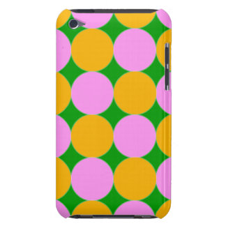 Pink and Orange Dots Case-Mate iPod Touch Case