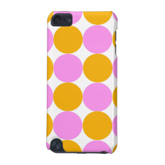 Pink and Orange Dots iPod Touch 5G Covers