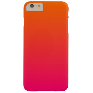 Pink and Orange Ombre Barely There iPhone 6 Plus Case