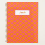 "Pink and Orange Planner<br><div class=""desc"">Preppy planner</div>"