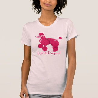 Pink and Pampered fun French Poodle Tops