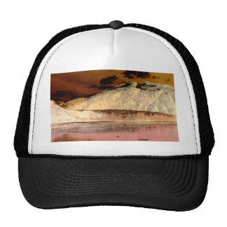 Pink and Peach Abstract Fantasy World Trucker Hat