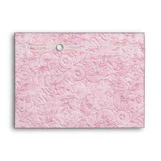 Pink and Pearl Envelope