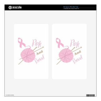 Pink And Proud Skin For Kindle Fire