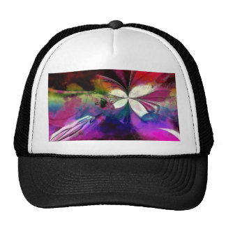 Pink And Purple Abstract Trucker Hat