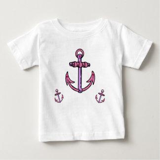 Pink and Purple Anchors Shirt