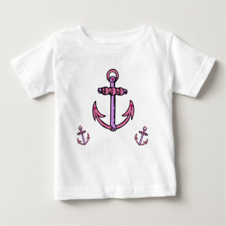 Pink and Purple Anchors Tshirt