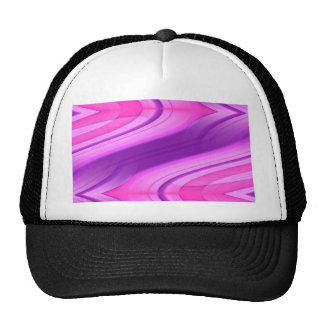 pink and purple asymmetry 1 designed by Tutti Trucker Hat