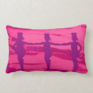 Pink and Purple Cheer Stunt Pillow