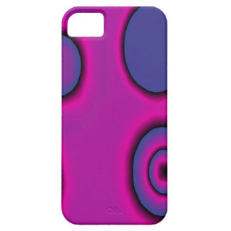 pink and purple cirlces iPhone SE/5/5s case