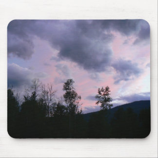 Pink and purple clouds Mousepad
