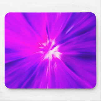 Pink and Purple color burst Mouse Pad