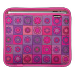 Pink and Purple Flower Pattern iPad Sleeves