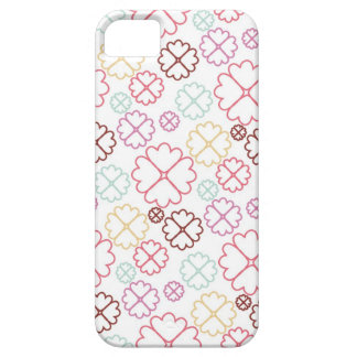 Pink and Purple Flower Power iPhone 5 Case