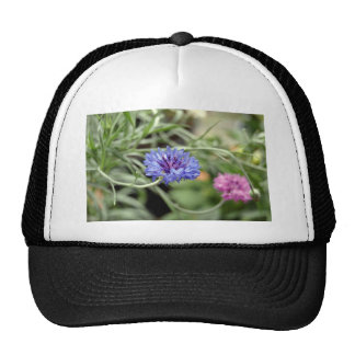 Pink and Purple flowers Hats