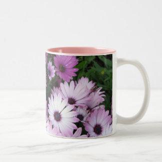 Pink and Purple Flowers Mug