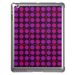 Pink and Purple Fractal Collage iPad Cover