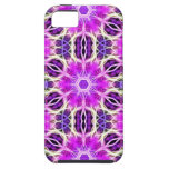 Pink and Purple Fractal Mandala Case For iPhone 5/5S
