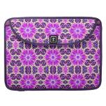 Pink and Purple Fractal Mandala Sleeve For MacBooks