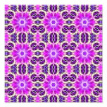 Pink and Purple Fractal Mandala Photo Print