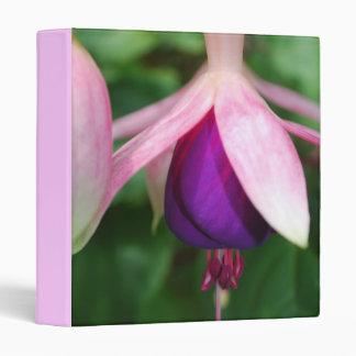 Pink and Purple Fuchsia Binder
