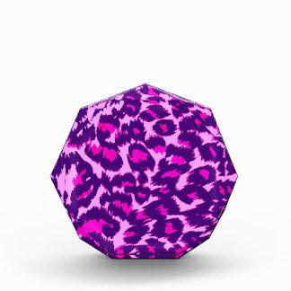 Pink and Purple Leopard Spots Award