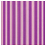 [ Thumbnail: Pink and Purple Lines Pattern Fabric ]