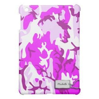 Pink and Purple Military Camo iPad Mini Cases