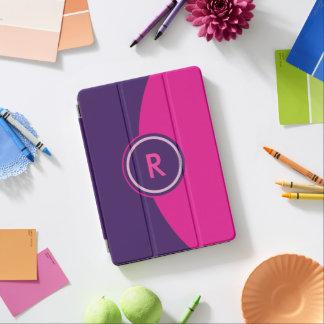 Pink and Purple Monogram iPad Pro Cover