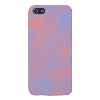 Pink and Purple Mosaic Abstract iPhone SE/5/5s Cover