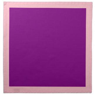 Pink and Purple Napkins