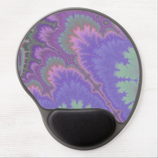 Pink And Purple Paisley Gel Mouse Mats