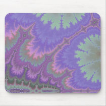 Pink And Purple Paisley Mouse Pad