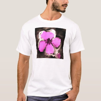 Pink and Purple Pansy T-Shirt