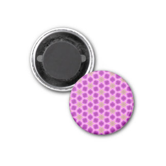 Pink and Purple Pattern Magnet