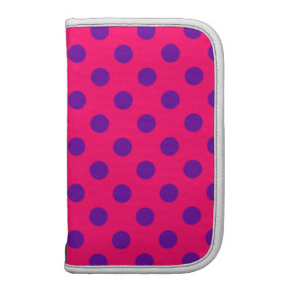 Pink and Purple Polka Dot Organizers
