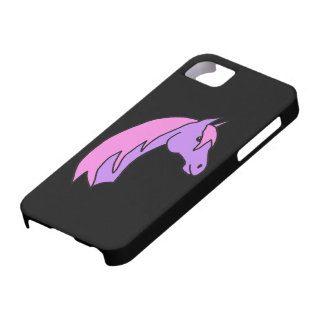 Pink and Purple Pony iPhone SE/5/5s Case