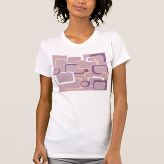 Pink and Purple Retro Square T-shirt