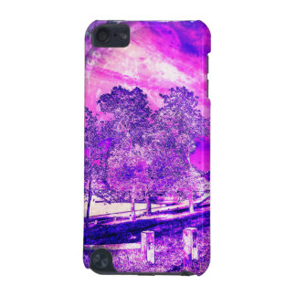 Pink And Purple Rural Scene iPod Touch 5g Case