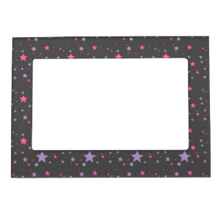 Pink and Purple Scattered Heart Frame