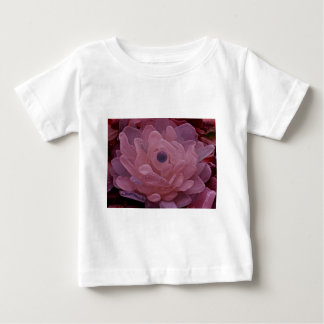 Pink and Purple Sea Glass Flower Baby T-Shirt