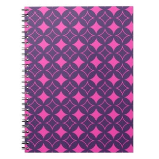 Pink and purple shippo notebook