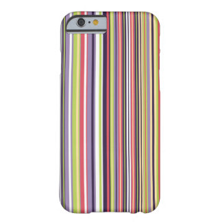 Pink and Purple Stripe Phone Case Barely There iPhone 6 Case