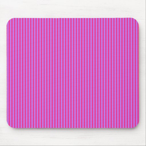 Pink and Purple Stripes Mousepad