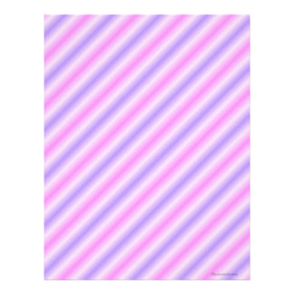 Pink and Purple Stripped Scrapbook Paper