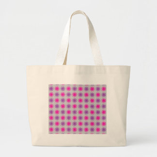 Pink and purple sun pattern illustration bags