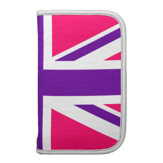 Pink and Purple Union Jack Organizers