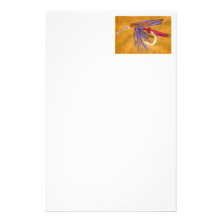 """""""Pink and Purple"""" Wet Fly Stationery"""