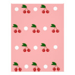 PInk and Red Cherry Pattern Soap Wrapper